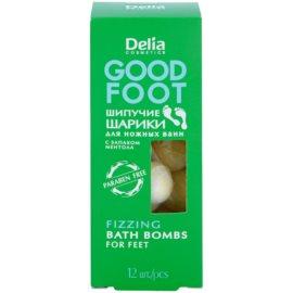 Delia Cosmetics Good Foot Brausekugeln zum Baden für Füssen  54 g