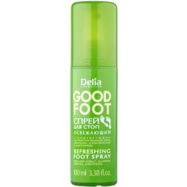 Delia Cosmetics Good Foot frissítő lábspray  100 ml