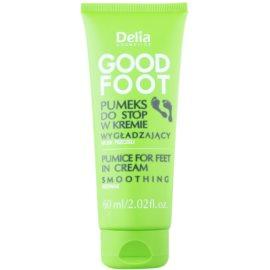 Delia Cosmetics Good Foot pumeks w kremie do stóp  60 ml