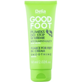 Delia Cosmetics Good Foot Piatra ponce sub forma crema pentru picioare  60 ml