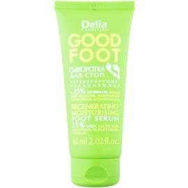 Delia Cosmetics Good Foot regenerierendes und feuchtigkeitsspendendes Serum für Füssen (25% urea) 60 ml