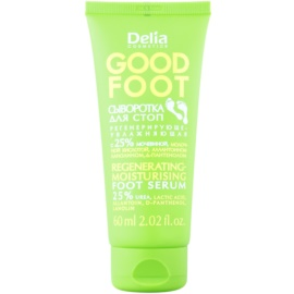 Delia Cosmetics Good Foot sérum regenerador e hidratante para pies (25% urea) 60 ml