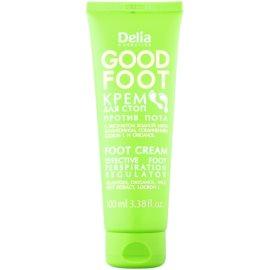 Delia Cosmetics Good Foot crema de pies contra el exceso de sudor  100 ml