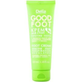 Delia Cosmetics Good Foot krém na nohy proti nadmernému poteniu  100 ml
