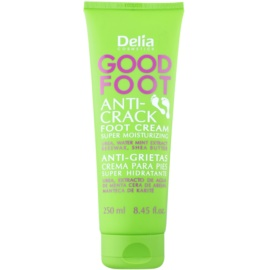Delia Cosmetics Good Foot crema hidratante para pies agrietados  100 ml