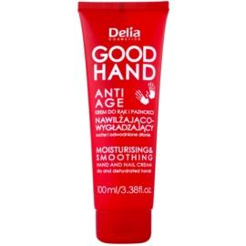 Delia Cosmetics Good Hand Anti-Age feuchtikeitsspendende und weichmachende Creme für Hände und Fingernägel  100 ml