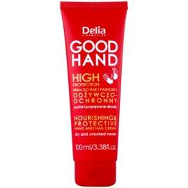 Delia Cosmetics Good Hand High Protection поживний та захисний крем для рук та нігтів  100 мл