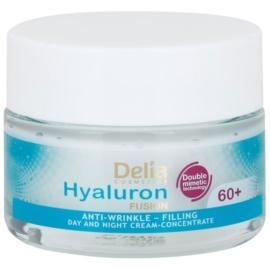 Delia Cosmetics Hyaluron Fusion 60+ protivráskový krém obnovující hutnost pleti  50 ml