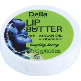 Delia Cosmetics Lip Butter Tempting Berry tápláló ajakbalzsam (Argan Oil And Vitamin E) 2,5 g