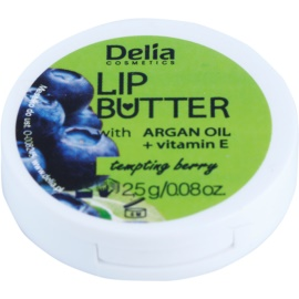 Delia Cosmetics Lip Butter Tempting Berry cuidado lábial de manteiga (Argan Oil And Vitamin E) 2,5 g
