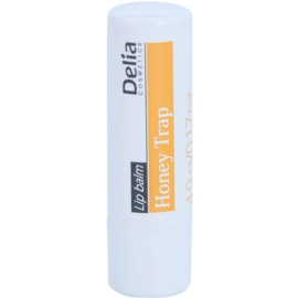 Delia Cosmetics Lip Balm Honey Trap bálsamo labial reparador  4,9 g