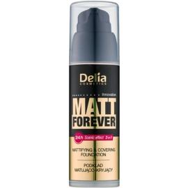 Delia Cosmetics Matt Forever make-up cu textura usoara culoare 44 35 ml