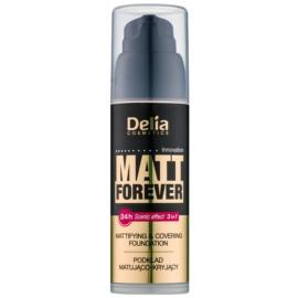 Delia Cosmetics Matt Forever make-up cu textura usoara culoare 46 35 ml