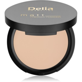 Delia Cosmetics Matt pudra  culoare 02 Light Beige 8 g