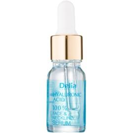Delia Cosmetics Professional Face Care Hyaluronic Acid sérum intenso antiarrugas rellenador con ácido hialurónico para rostro, cuello y escote  10 ml