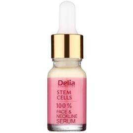 Delia Cosmetics Professional Face Care Stem Cells intenzívne spevňujúce a protivráskové sérum s kmeňovými bunkami na tvár, krk a dekolt  10 ml