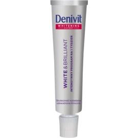 Denivit White & Brilliant intenzivní bělicí zubní pasta  20 ml