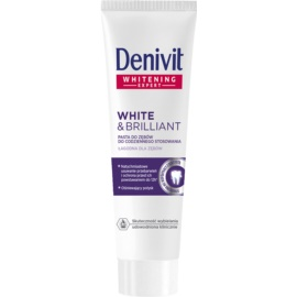 Denivit White & Brilliant bleichende Paste  50 ml