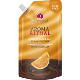 Dermacol Aroma Ritual harmonisierende Flüssigseife belgische Schokolade  500 ml