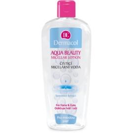 Dermacol Aqua Beauty čisticí micelární voda pro mladou pleť  400 ml