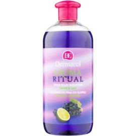 Dermacol Aroma Ritual antistresová pena do kúpeľa hrozno a limetka  500 ml