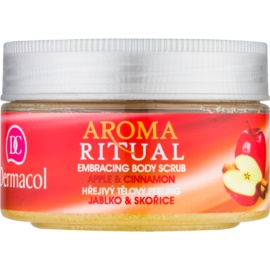 Dermacol Aroma Ritual gommage pour le corps effet chauffant pomme et cannelle  200 g