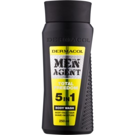 Dermacol Men Agent Total Freedom Gel de duș 5 in 1  250 ml