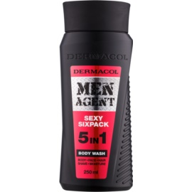 Dermacol Men Agent Sexy Sixpack Body Wash 5 In 1  250 ml