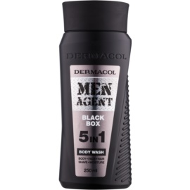 Dermacol Men Agent Black Box sprchový gél 5 v 1  250 ml