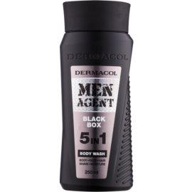 Dermacol Men Agent Black Box gel za prhanje 5 v 1  250 ml