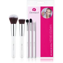 Dermacol Master Brush by PetraLovelyHair set perii machiaj  5 buc