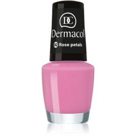 Dermacol Mini Summer Collection lak za nohte odtenek 02 Rose Petals 5 ml