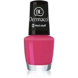 Dermacol Mini Summer Collection lac de unghii culoare 03 Hot Stuff 5 ml