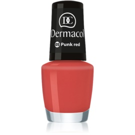 Dermacol Mini Summer Collection lak za nohte odtenek 05 Punk Red 5 ml