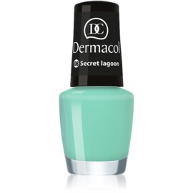 Dermacol Mini Summer Collection lak za nohte odtenek 08 Secret Lagoon 5 ml