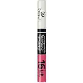 Dermacol 16H Lip Colour batom e gloss de longa duração bifásico tom 06  4,8 g