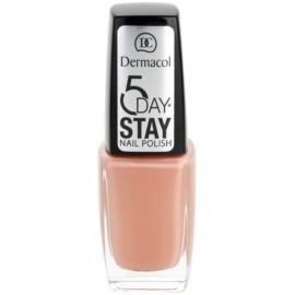 Dermacol 5 Day Stay lak na nehty odstín 02 10 ml