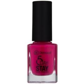 Dermacol 5 Day Stay lac de unghii cu rezistenta indelungata culoare 16 Miami Style 11 ml