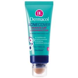 Dermacol Acnecover make-up si corector pentru ten acneic culoare 1  30 ml