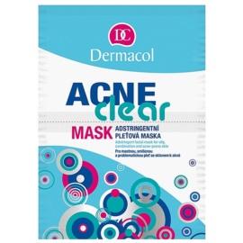 Dermacol Acneclear pleťová maska pro problematickou pleť, akné  2x8 g