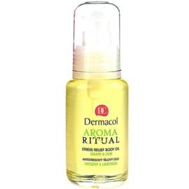 Dermacol Aroma Ritual antistresový telový olej hrozno a limetka  50 ml