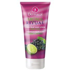 Dermacol Aroma Ritual antistresové telové mlieko hrozno a limetka  200 ml