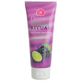 Dermacol Aroma Ritual crema antistres pentru maini struguri si lime  100 ml