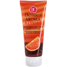 Dermacol Aroma Ritual Restoring Cream For Hands Belgian Chocolate  100 ml