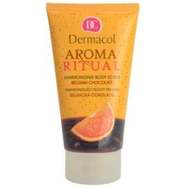 Dermacol Aroma Ritual harmonizujący peeling do ciała belgijska czekolada  150 ml