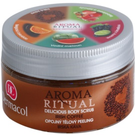 Dermacol Aroma Ritual gyengéd testpeeling Ír kávé  200 g
