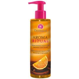 Dermacol Aroma Ritual sabonete líquido harmonizador com doseador Belgian Chocolate 250 ml