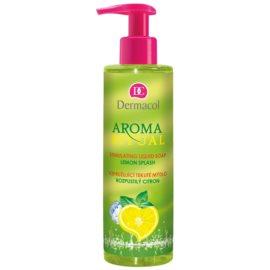 Dermacol Aroma Ritual erfrischende Flüssigseife mit Pumpe Lemon Splash 250 ml