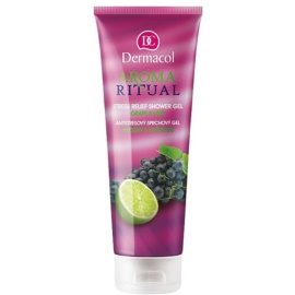 Dermacol Aroma Ritual antistresni gel za prhanje grozdje in limeta  250 ml