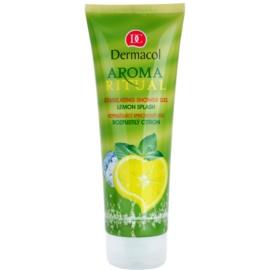 Dermacol Aroma Ritual felpezsdítő tusfürdő gél pezsgő citrom  250 ml